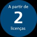 Promo 2+ licenças